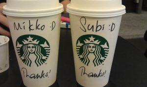 Mikko Subi, Starbucks