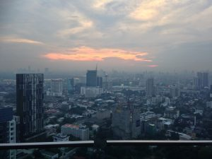 Sky bar view in Bangkok