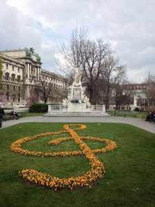 Mozart Statue, Vienna, Austria