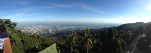 Panoramic View of Chiang Mai from Wat Phrathat Temple