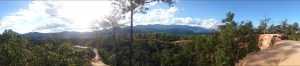 Panoramic view from Pai Canyon