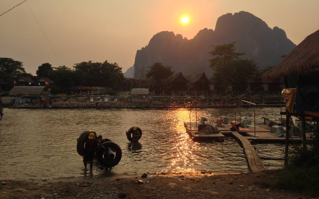 Steaming Hot Month in Laos – video