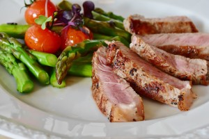 Veggie meat platter