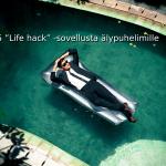 """5 """"Life hack"""" -sovellusta älypuhelimille"""